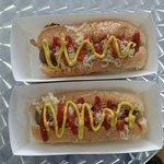 vegan hotdogs ... yum !