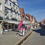 Fußgängerzone in Erlangen