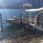 Luca's beautiful boat.