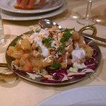 Antipasto: insalata di ceci e patate