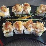 sushi con callo y camaron