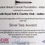Breast Cancer Foundation Award
