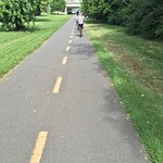Mount Vernon bike trail from Gravelly Point to Memorial Bridge