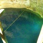 Avis aux amateurs, plongeoir de 8m dans le cénote