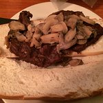 Appalachian Trail Delmonico Steak sandwich