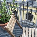 Gedeeld balkon