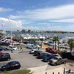 Wonderful shrimp. Great view of harbor