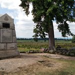 "The Angle ""High water mark"" of Pickets Charge."
