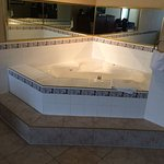 Jacuzzi Tub -- smaller than expected.