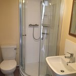 Very clean and beautifully finished since the refurb.   Our Ensuite shower room Tastefully resto