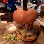 The Big Rack Burger