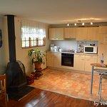 Küche Cottage mit zwei Schlafzimmern