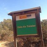 Foto de Cala Es Talaier