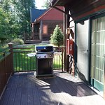 Golf Cabin - Deck and Grill