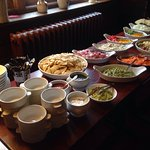 Monthly self service food night 'Mexican' won the vote this month
