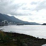 View toward the mooring docks