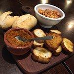 Pan con dips