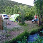Camp Site T-18 at the Heartland of the Rockies Campground (July 12th, 2016)