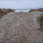 One of many walkways to the beautiful beach.