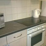 Common and well equipped kitchen