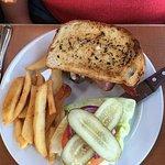 Hamburger on Sourdough
