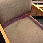 Example of room condition (stain in chair)