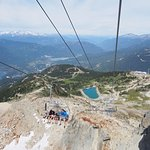 Chairlift up to Top of the World (summit)