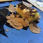 tartare di patate e tartufo
