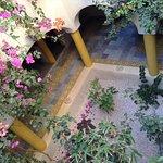 Jardin intérieur Dar Enesma