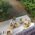 #202 vue sur la terrasse petit-déjeuner