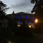 Moss Grove at night
