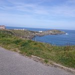 On the coastal path a few minutes walk from the hotel