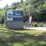 Our new sign! Best western logo change!!