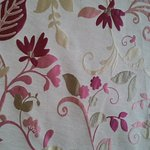 wonderful fabric for the bed!