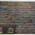 Great selection of delicious sandwiches!