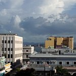 Panoramic view from Old San Juan from the terrace