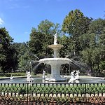 The fountain in Forsyth