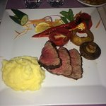 Chateaubriand cooked to perfection! Amazing!
