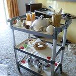 Langschläferfrühstück mit Zimmerservice