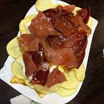 Potatoes with jamon