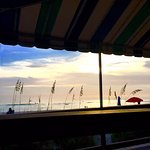 The view from our table at HB's
