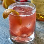 Whisky Jam Sour: Monkey Shoulder Scotch Whisky, lemon sour, orange bitters & raspberry jam