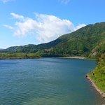 Lots of people were out on the lake fishing, kayaking, swimming...idyllic