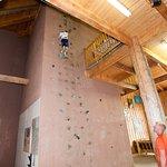 Recreation Barn - Interior - Climbing Wall