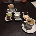 koffie met friandiches