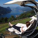 fantastic views over Lake Lugano