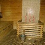 Nice Finnish sauna each evening