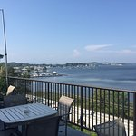 Outstanding view on lakeside patio