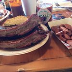 Beef Ribs and Sausage