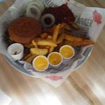 gluten free bun burger